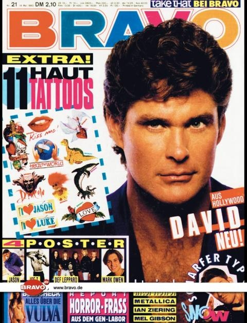 ... teen mag, as well as in a recent issue of Bravo, a huge teen magazine in ...