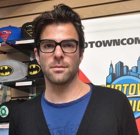 Zachary Quinto is openly gay. ... (more)