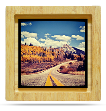 prints and frames your instagrams in handmade bamboo shadow box frames