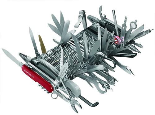 Insane Swiss Army knife