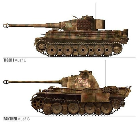 t 34 tank vs tiger  World War II :