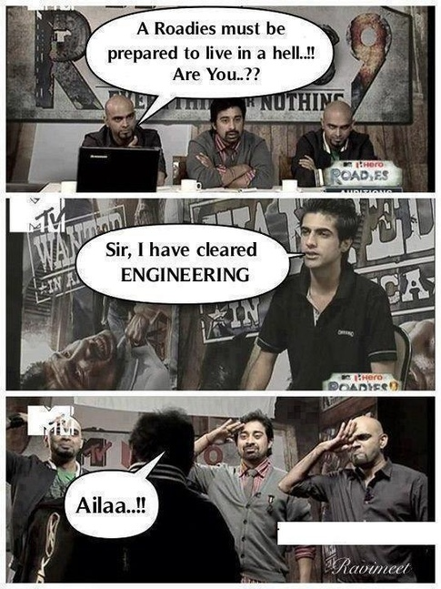 roadies engineering meme